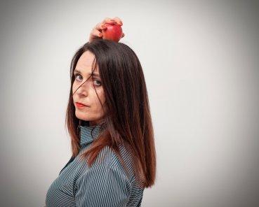 Æbledigte og foredrag med Mette Moestrup